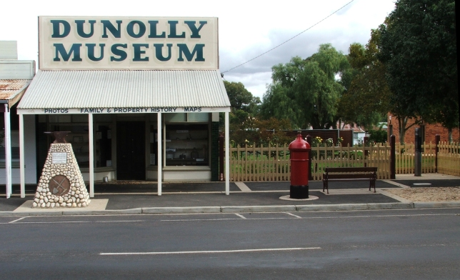 Dunolly Museum and adjacent gardens