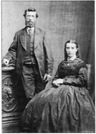 Richard and Jane Oates. Joan Burridge photograph.