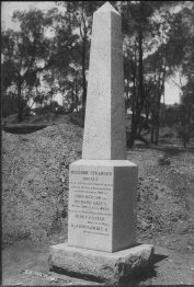 The Welcome Stranger Monument 1897. Deason and Oats were alive at the time. There has never been any credible evidence that this is in the wrong place.