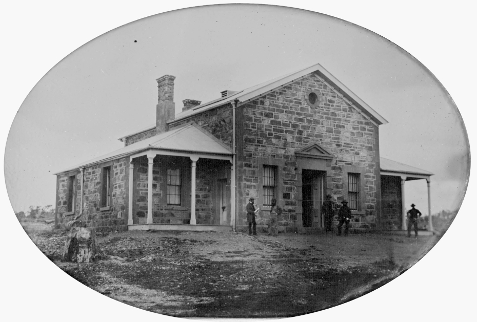 County Court Dunolly 1861